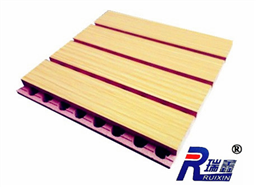 槽木吸音板