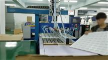拉菲250T分段式送料机械手取料液压四柱裁断机