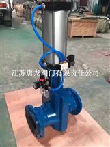 GJ641X-10气动管夹阀_国标