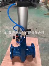 GJ641J-10气动铸铁管夹阀_国标