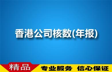 香港公司核数(年报)