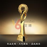 文博樹脂獎杯WB-170024愛心獎杯星星獎杯地球獎杯深圳玻璃鋼樹脂獎杯合金獎杯