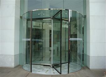 玻璃旋转门,玻璃自动门,玻璃感应门,玻璃平开门