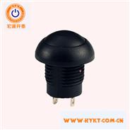防水电源按钮开关PB12    可带电源标记的电源按钮   复位自锁功用