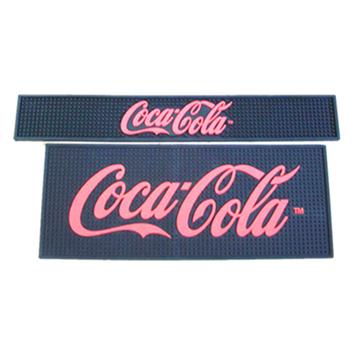 酒吧柜台防滑垫 吧台垫 可口可乐酒吧垫 COCA GOLA杯垫