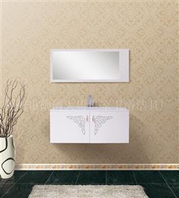 D1008-A Microcrystalline stone bathroom cabinet