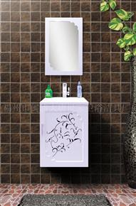 D1021 Microcrystalline stone bathroom cabinet