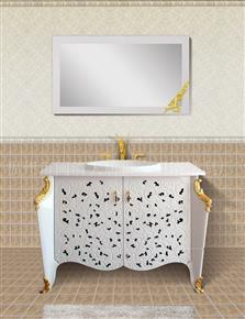 D1018 Microcrystalline stone bathroom cabinet