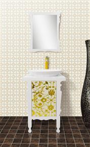 Datang family Microcrystalline stone bathroom cabinet D1016