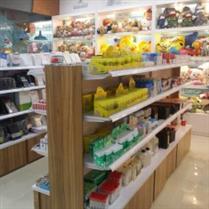 南京文具店钢木货架
