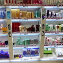 化妆品货架  化妆品展柜   化妆品灯箱
