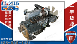 三一挖掘机柴油发动机总成 三一重工挖掘机配件