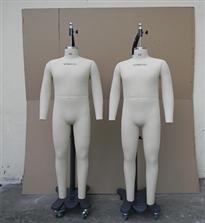 美国alvanon人体制衣模特,美.