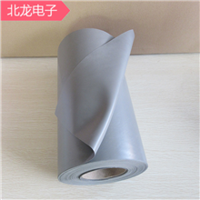 高導熱矽膠布0.3mm硅膠布絕緣布厚0.3mm*300寬灰色矽膠布