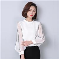 Fashionable long - sleeve blouse