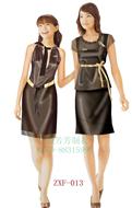 促销服装工厂定做夏季广告衣女士超市商场工作员制服套裙定制LOGO