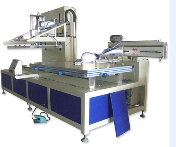 900*1200 running screen screen printing machine with robot