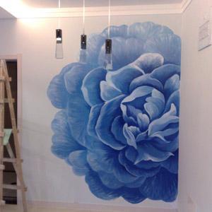 彩绘壁画不单单是作为一种简单的壁面装饰手段