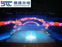 新疆電視臺120平米舞臺租賃P4.81