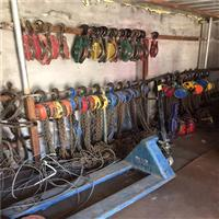 公司起重設備-吊裝葫蘆展示