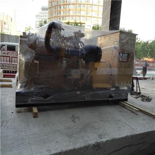 朝陽區望京文化娛樂項目柴發搬運吊裝就位