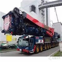 公司吊装设备-进口大型吨位吊车350T