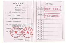 一般纳税人证书