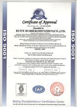 ISO 9001 认证报告