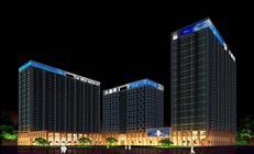 高新地产水晶城泛光照明工程