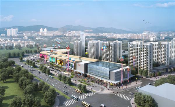 辽宁葫芦岛富尔沃财富财富广场LED电子屏项目