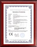 Honorary certificate
