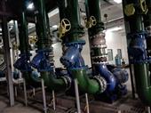 增压泵管道系统现场图