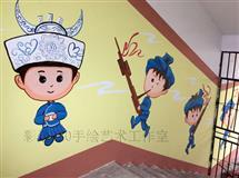 手绘油彩绘墙绘壁画客厅别墅挂画餐厅咖啡厅酒店装饰画