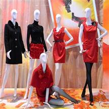 女装展示模特