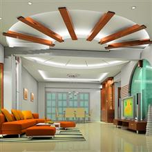 Combined type ceiling
