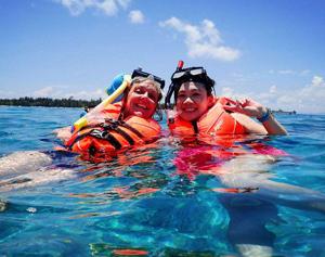 Designed for snorkel safety